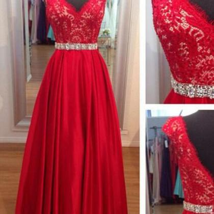 Sexy Prom Dress,lace Prom Dresses,m..