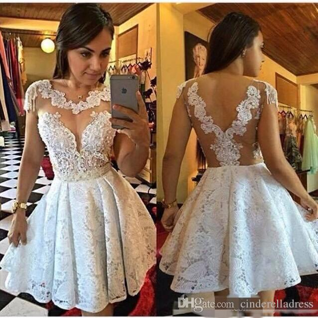 da70fce8df7 Sexy Short Prom Dress