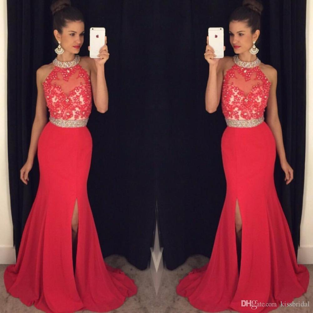 8c43d9381c Charming Prom Dress,Modest Red Long Prom Dresses ,Charming Prom Dress,Beading  Prom