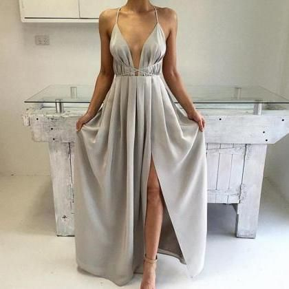 Long silk dresses for evening
