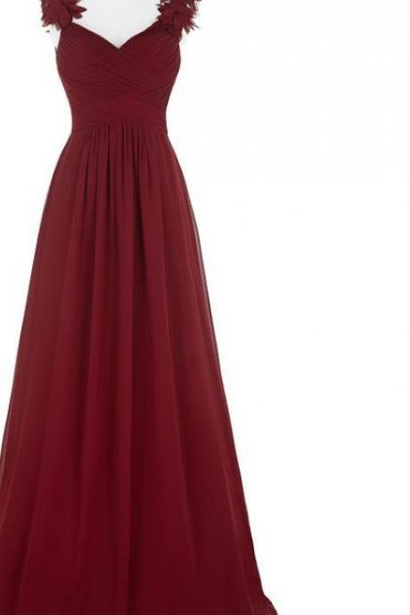 cheap PROM dress, a quick delivery of a graduation party dress and a Burgundy ball gown evening dresses
