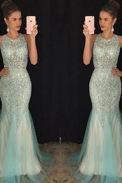 Mermaid Prom Dress, Homecoming Dress Long, Back to Schoold Party Gown