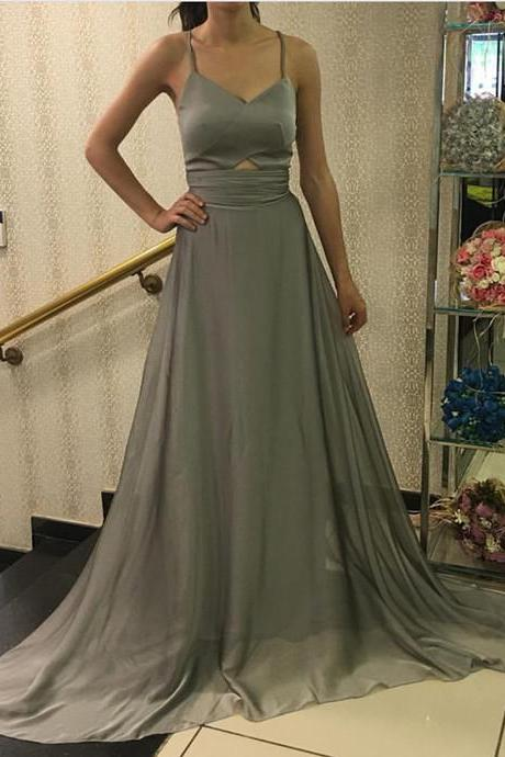 Charming Prom Dress, Sexy Evening Dress, Sleeveless Long Prom Dress
