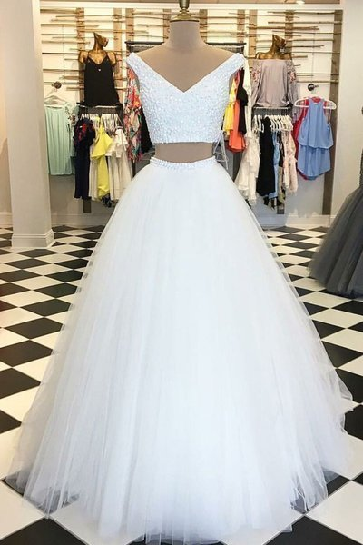 Charming Prom Dress, Elegant Tulle Prom Dress, Sleeveless Prom Dress, Long Evening Dress, Formal Gown