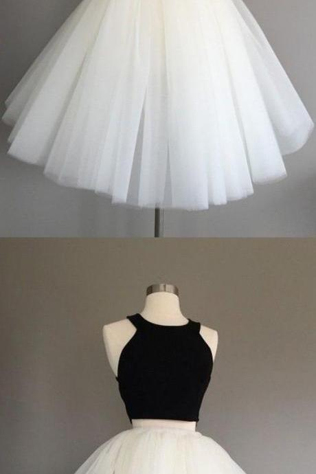 black homecoming dresses, cute tutu party dresses