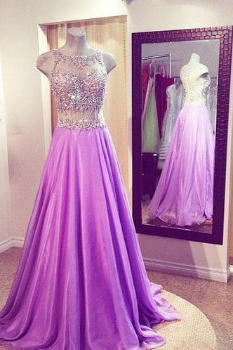 Two pieces Prom Dress,A-Line Prom Dress ,Beading Prom Dress,Women Dress,Charming Evening Dress,New Style Evening Dress,Sexy Prom Dress
