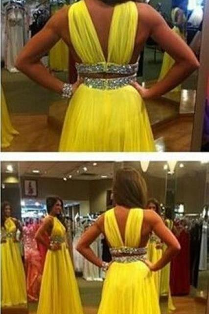 Charming Prom Dress,Modest Prom Dress,Prom Dress,Prom Gowns for Teens,Prom Party Dresses,Yellow Evening Dress