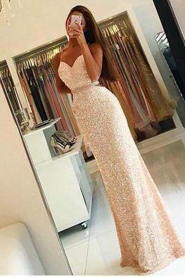 Simple Floor-length Bridesmaid/Prom Dresses,Charming Prom Dress,Evening Dress,Mermaid Evening Formal Dress,Spaghetti Straps Prom Dress,Long Prom Dress
