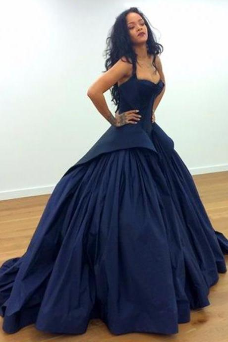 Simple Prom Dress,New Fashion Women Party Dress,Sexy Prom Dress,Navy Blue Prom Dress,Formal Dress, Navy Prom Dress,prom Party Dress