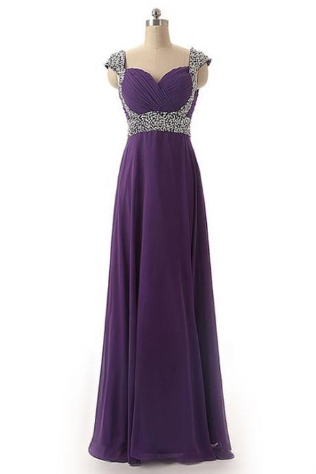 Sexy Prom Dress,Prom Dresses,Grape Prom Dress,Chiffon Prom Dresses,Sexy Dress,Charming Prom Dress,Formal Dress,simple Prom Gown For Teens