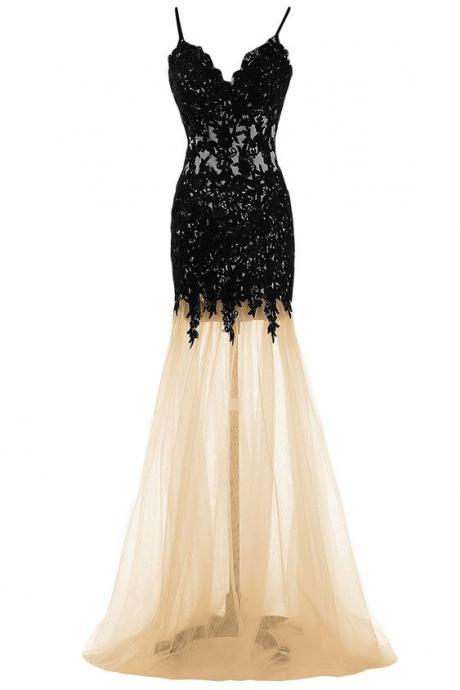 Sexy Prom Dress,lace Prom Dresses,modest Prom Dress,2017 Prom Dresses,Sexy Dress,Charming Prom Dress,Formal Dress,champagne Prom Gown For Teens