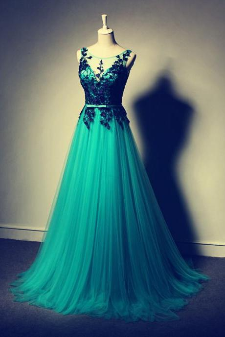 Long prom dresses, evening gowns, lace prom gowns,lace prom gowns,2017 new style fashion prom gowns