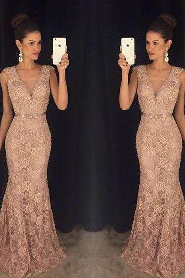 Evening Dress,Long Evening Dresses,Formal Dress,Mermaid Formal Gown,Women Dress,Princess Prom Gowns,Lace prom gown