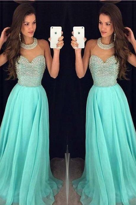 Sexy Prom Dress,New Prom Dresses,Prom Dress,Prom Dresses,Charming Prom Dress,Ball Gown Formal Dress,Mint Green Prom Gown For Teens