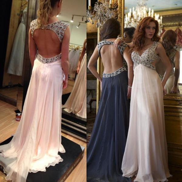 Charming Prom Dress,New Prom Dress,Pink Prom Dress,Prom Gowns for Teens,Prom Party Dresses,Chiffon Evening Dress