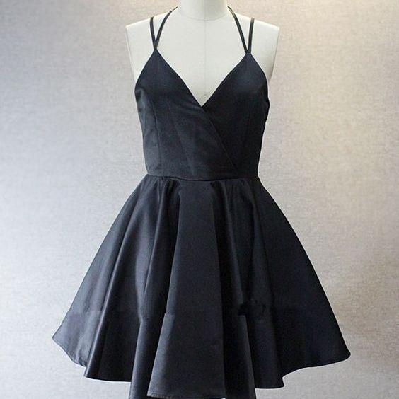 Homecoming Dresses, Charming Prom Dress,Lovely Cute Prom Dress,Sexy Prom Gown,black Homecoming Dresses,homecoming gown,prom gowns
